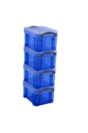 Blue Storage Boxes