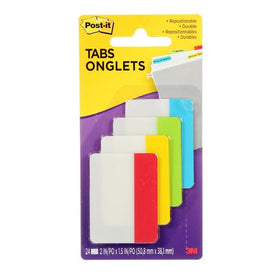 Post-it Assorted Primary Colours Tabs