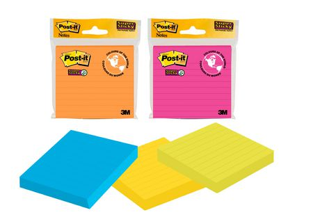 Post-it Super Sticky Mixed Notes