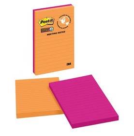 Post-it Super Sticky Lined Meeting Notes