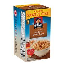 Quaker® Maple & Brown Sugar Flavour Instant Oatmeal