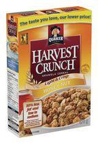 Quaker Harvest Crunch Light & Crisp Honey Nut Granola Cereal