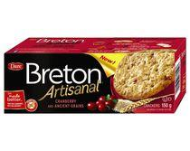 Breton Dare Peanut Free Artisanal Craneberry and Ancient grains Crackers