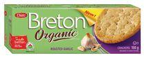 Breton Dare Organic Roasted Garlic Crackers