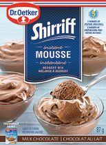 Dr.Oetker Shirriff Milk Chocolate Mousse Dessert Mix