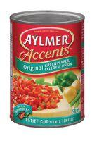 Aylmer® Accents Original Green Pepper, Celery and Onion Petite Cut Stewed Tomatoes