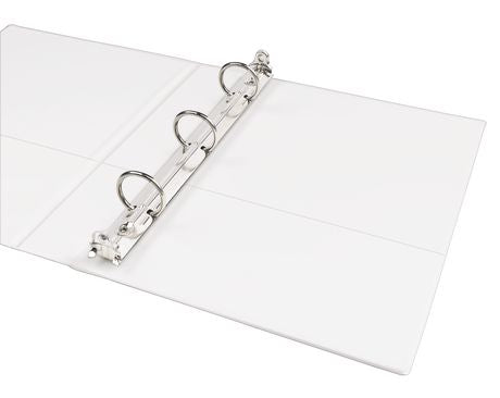 Durable View White Mini Binder