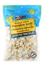 Joe's Tasty Travels Unsalted Roasted Inshell Pumpkin Seeds