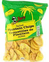 Joe's Tasty Travels Salted Plantain Chips