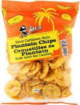 Joe's Tasty Travels Spicy Caribbean Style Plantain Chips