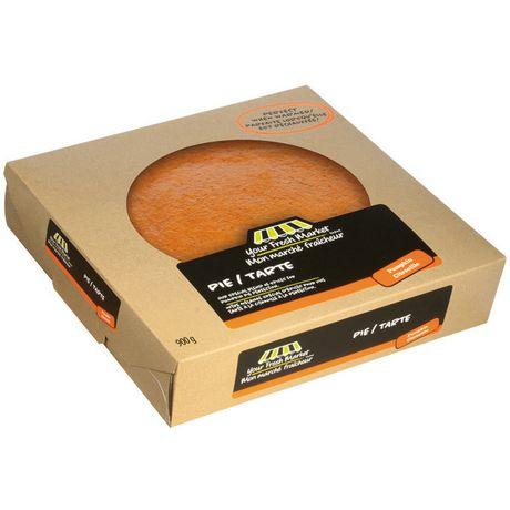 "Your Fresh Market Baked 10"" Pumpkin Pie"