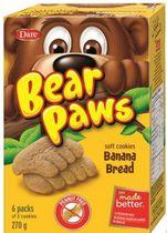 Bear Paws Banana Bread Soft Cookies