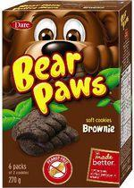 Bear Paws Brownie Soft Cookies