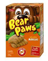 Bear Paws Dare Molasses Soft Cookies