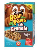 Bear Paws Dare Soft Granola Chocolate Chip Cookies