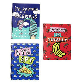 Girl Talk 1-Subject Notebook