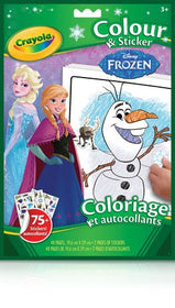 Frozen Colour & Sticker Book