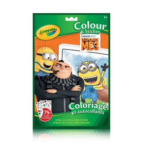 Despicable Me 3 Colour & Sticker Book