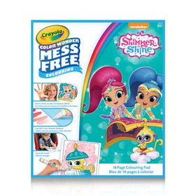 Nickelodeon Shimmer & Shine Color Wonder Colouring Pad