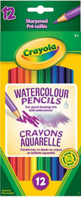 Sharpened Watercolour Pencils