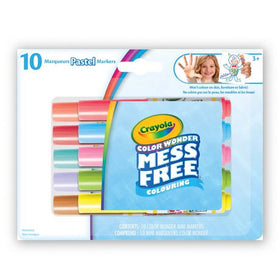 Color Wonder Pastels Mini Markers Interactive Colouring Book