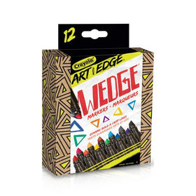 Art with Edge Wedge Markers