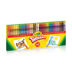 Twistables Crayons & Coloured Pencils