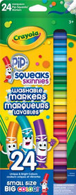 Thin Tip Washable Pip Squeak Markers