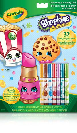Shopkins Colouring & Activity Pad