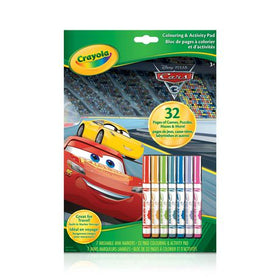Cars 3 Colouring and Activity Pad