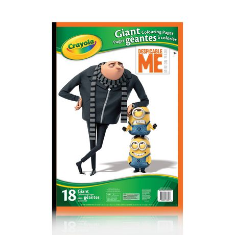 Despicable Me Giant Colouring Pages