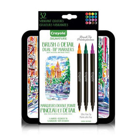 Signature Brush and Detail Dual-Tip Markers