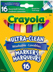 Washable Broad Line Markers