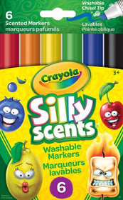Silly Scents Washable Chisel Tip Markers