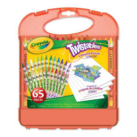 Twistables Coloured Pencils & Paper Set