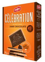 Celebration Dark Chocolate 45% Cocoa Butter Cookies