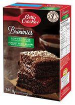 Betty Crocker Low Fat Fudge Brownies Mix