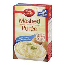 Betty Crocker Butter & Herb Mashed Potatoes
