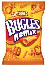 Bugles Remix Cheddar Snack Mix Chips