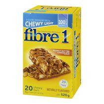 Fibre 1™ Chewy Light Peanut Butter & Chocolate Chewy Bars