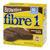 Fibre 1™ Chocolately Fudge Brownies