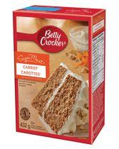 Betty Crocker Carrot SuperMoist Cake Mix
