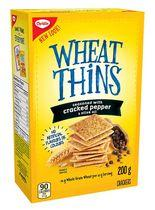 Christie Wheat Thins Cracked Pepper and Olive Oil Crackers