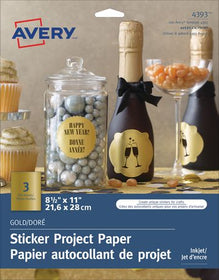 Gold Sticker Project Paper