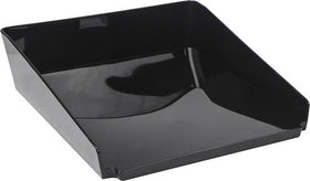 Modern Gloss Letter Tray - Black