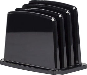 Modern Gloss Vertical Sorter - Black