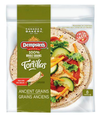 "Dempster's 7"" Whole Grains Ancient Grains Tortillas"