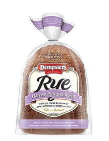Dempster's® Harvest Pumpernickel Rye with Rye Meal and Caraway