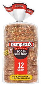 Dempster's100% Whole Grains 12 Grain Bread