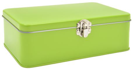 Large Green Pencil Tin